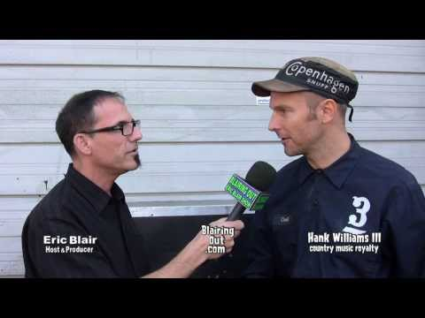 """Hank Williams III talks w Eric Blair about """"A Fiendish Threat"""" & """"Brothers of the 4x4"""" 2013"""