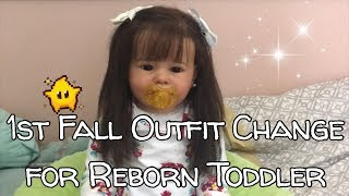 Fall Outfits Begin with Reborn Toddler Nelly!! | Real Life-Like Baby Dolls!