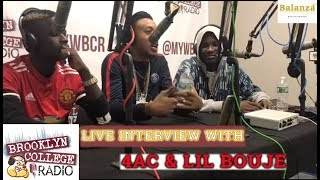 Download BCR Live Interview with 4AC and Lil Bouje. @BrooklynCollege MP3 song and Music Video
