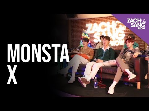 Monsta X Talks All About Luv, Working w/ Pitbull & Falling on Stage