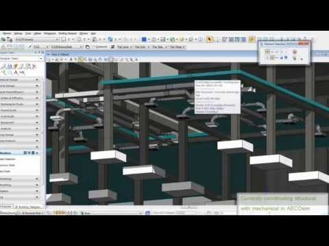 The Structural Design Process Using AECOsim Building Designer Part 1/3