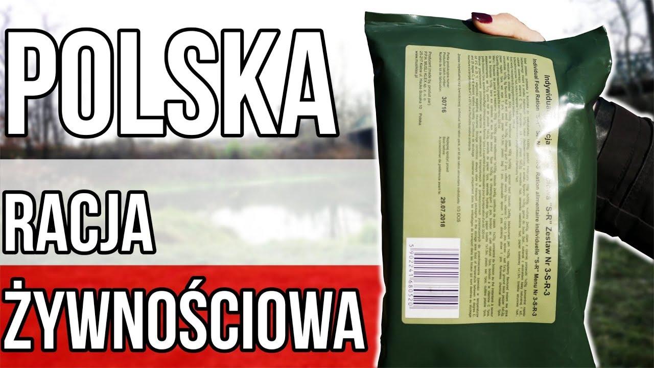 POLSKA RACJA ŻYWNOŚCIOWA SR-3 | Test,recenzja,unboxing #38