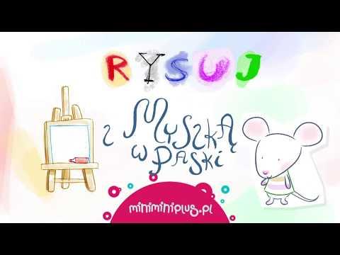 KONKURS | Rysuj z Myszką w Paski na MiniMini+
