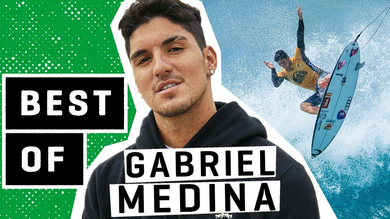 O melhor de Gabriel Medina… VOCÊ NÃO ESTÁ ENTRETENIDO !! - Destaques da WSL