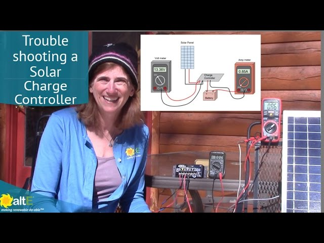 Troubleshooting A Solar Charge Controller Youtube
