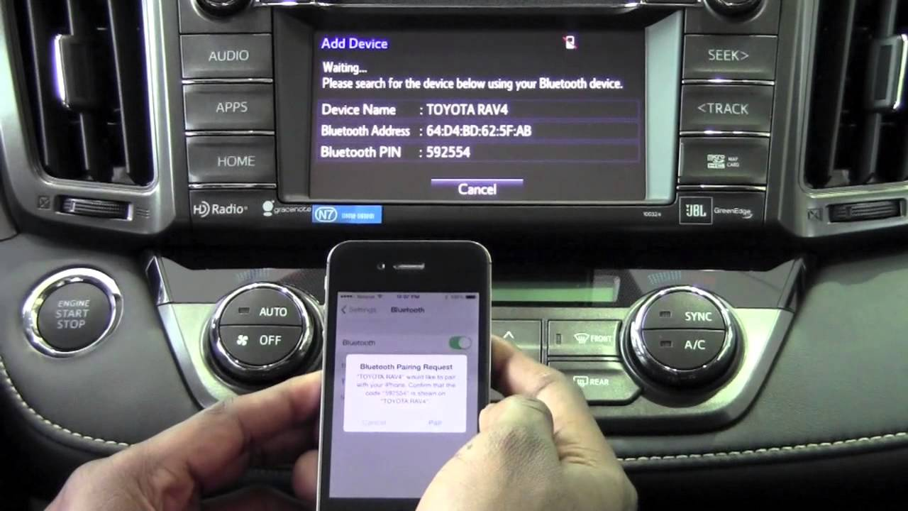 2014 Toyota Rav4 Connect Iphone To Entune How To By