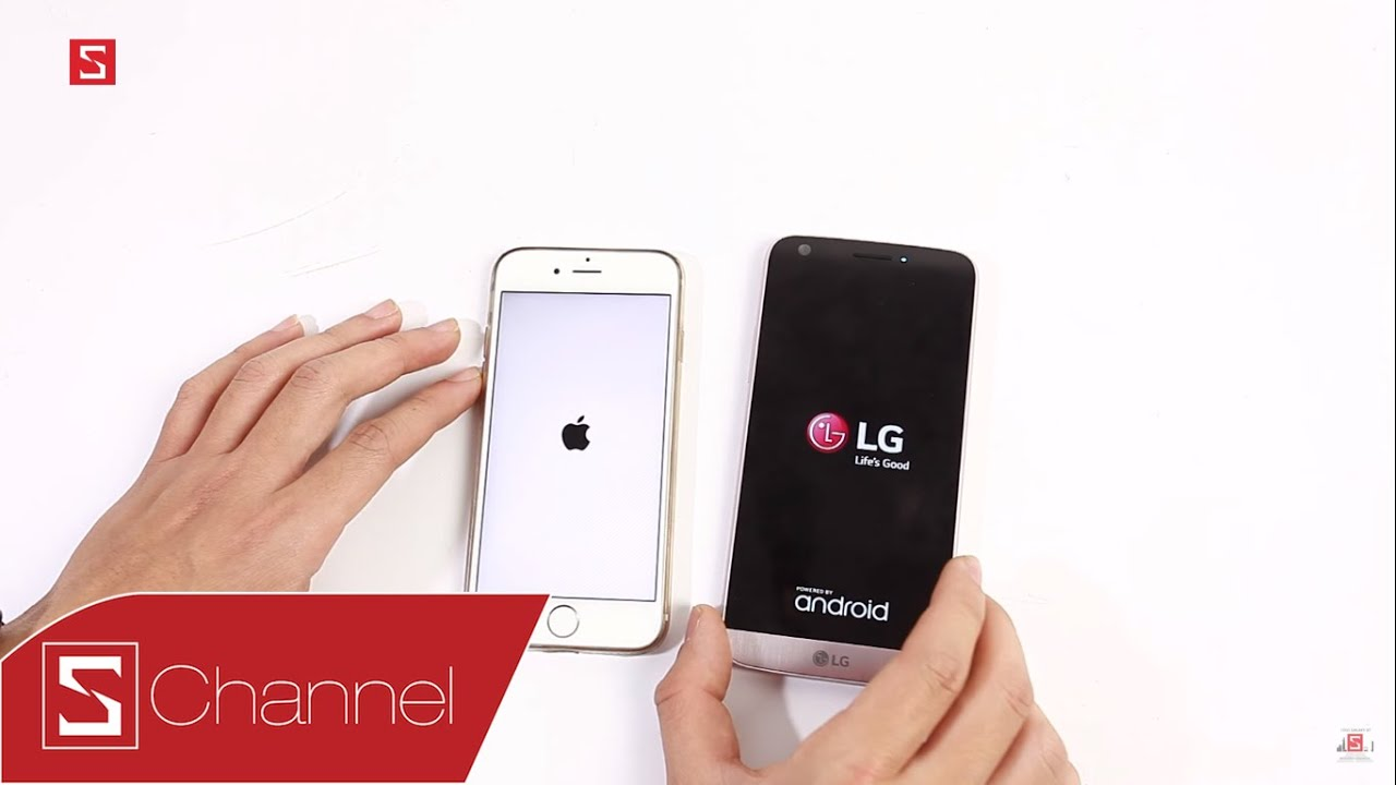 Schannel – Speedtest LG G5 vs iPhone 6S : RAM 4GB có ăn được RAM 2GB !!!