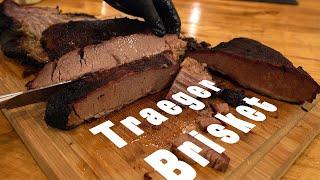 Traeger Brisket - Pellet Smoker Brisket