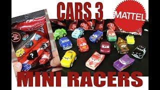 "Mattel Disney·Pixar Cars 3 Diecast ""Mini Racers"" Blind Bags Opening- INCLUDES #1-14!"