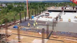 Intel Parking Garage Construction - 1