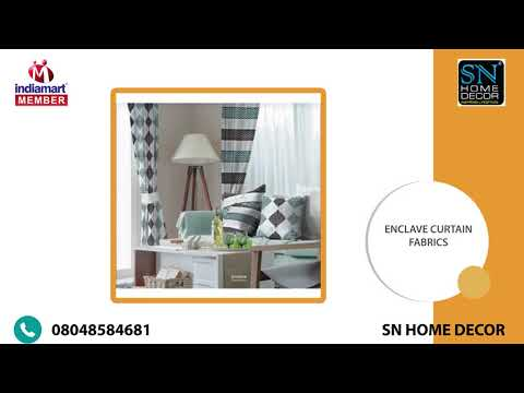 Sn Home Decor Manufacturer Of Printed Cotton Bed Sheet Curtain Fabrics From Bhiwandi