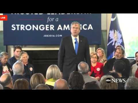 Jeb in SC: I like Peyton Manning cause he wrote me a check