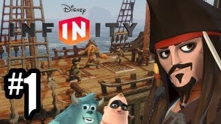 Disney Infinity Gameplay Walkthrough - Part 1 - Intro & MAGIC!! (360/PS3/Wii U HD) Pirates Gameplay