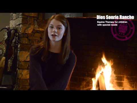 Dios Sonrie Rancho Fundraising video with Annie Thurman