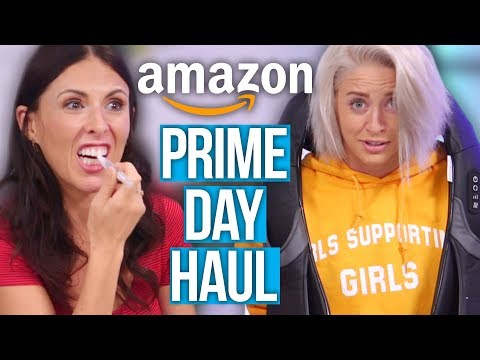Things We Bought on Amazon Prime Day 2018! (Beauty Break)