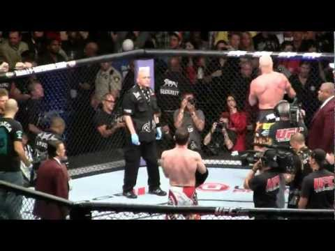 Dana White chases after Forrest Griffin post fight at UFC 148