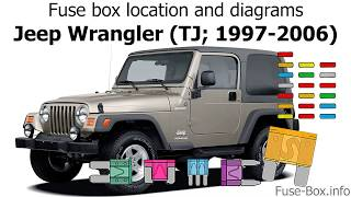 [SCHEMATICS_4UK]  Fuse box location and diagrams: Jeep Wrangler (TJ; 1997-2006) - YouTube | 1997 Jeep Wrangler Engine Diagram |  | YouTube