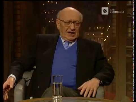 Harald Juhnke & Marcel ReichRanicki in der Harald Schmidt Show 1996
