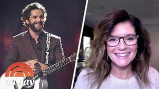 Thomas Rhett's Mom Reveals When She Knew His Wife, Lauren, Was The One | TODAY All Day