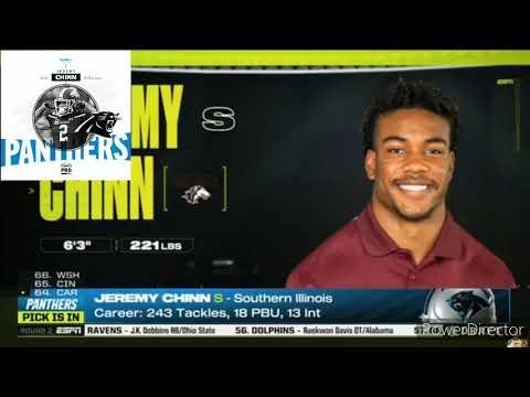 Carolina Panthers 2020 NFL Draft Picks