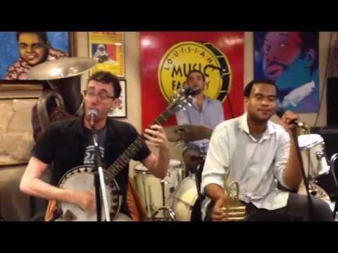 Swamp Donkeys Whiskey Dick Live Louisiana Music Factory Jazzfest 2015