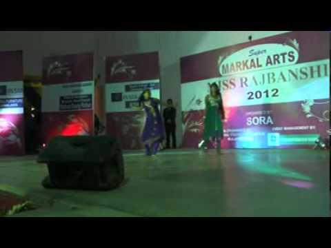 Dhuk dhuk korche keno more mon da dance in MISS RAJBANSHI 2012....