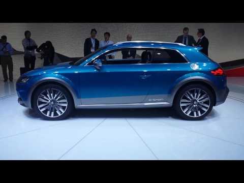 Audi Allroad Shooting Brake e-tron Concept