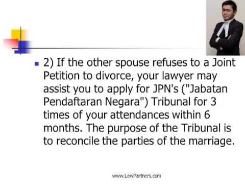 Divorce Procedure in Malaysia Law