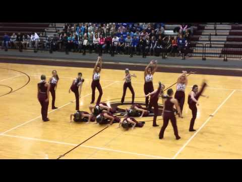 gardendale high school rockette dance at BBall gam