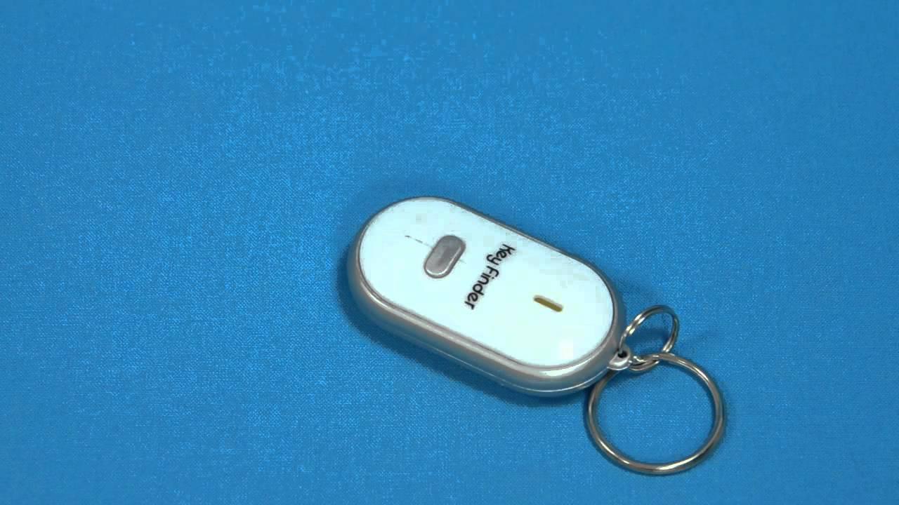 Брелок для поиска ключей, отзывающийся на свист - YouTube