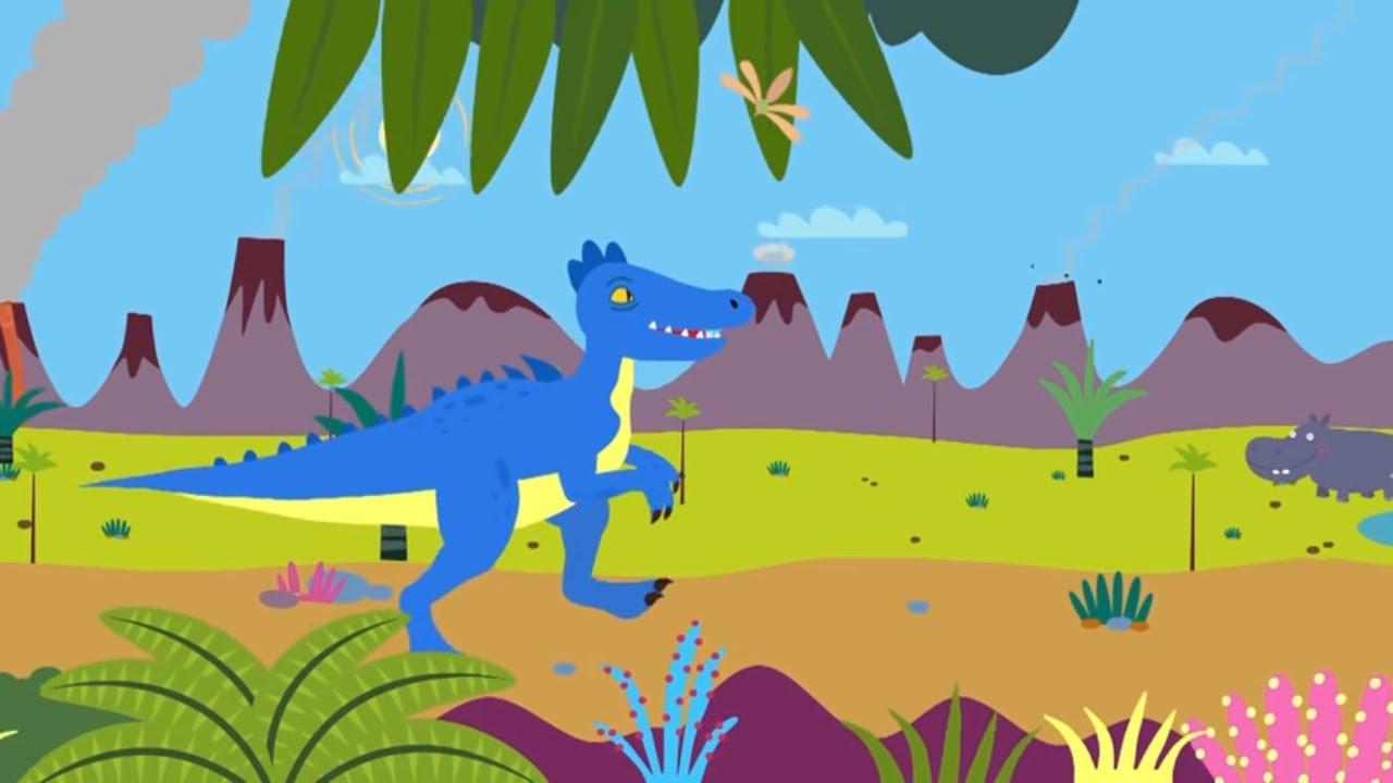 Лучшие песни про динозавров и Акулёнок | + Сборник про животных | Песни для детей