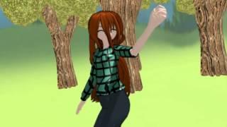 MMD Gravity Falls (Wendy dance polka)
