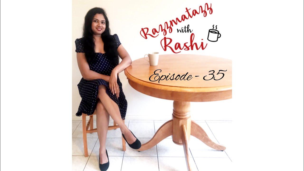 Razzmatazz With Rashi (Episode - 35) Srishti Rajeev #author #interview #books