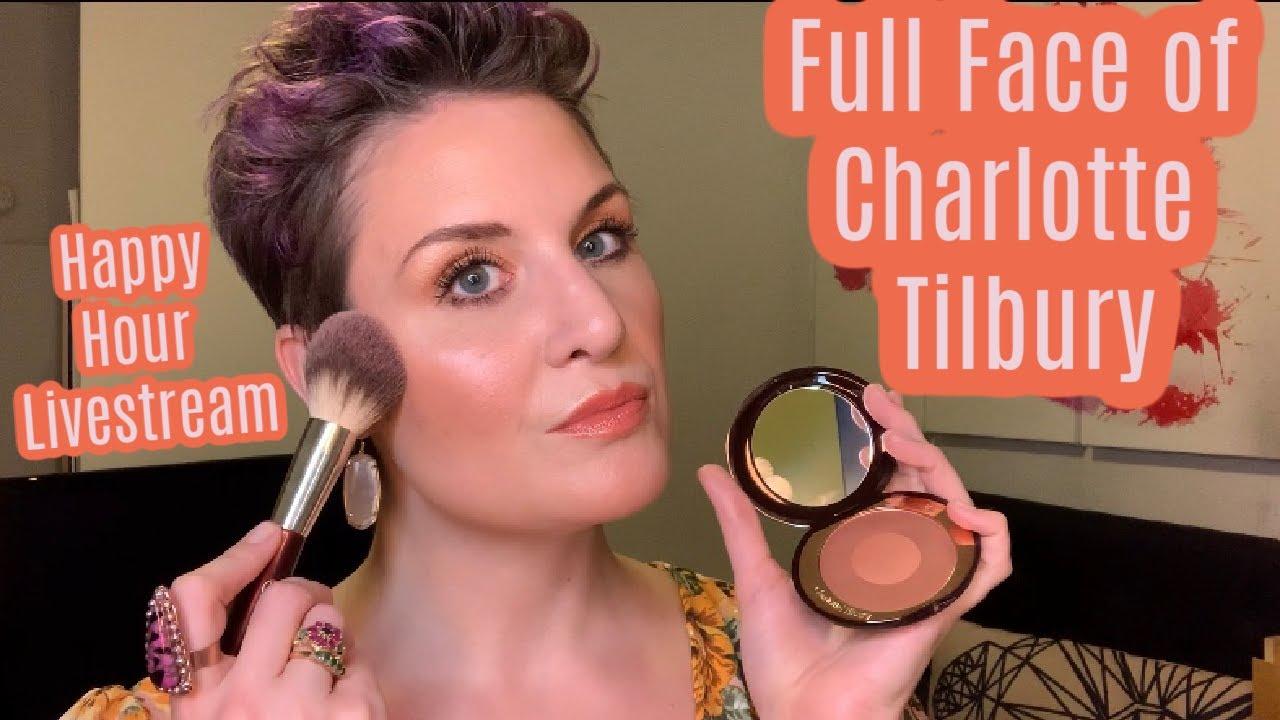 NEW Charlotte Tilbury Pillow Talk & Cheek Glow | Full Face of Charlotte Tilbury