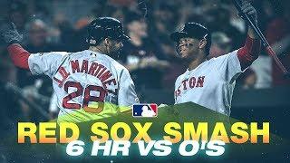 Red Sox clobber 6 home runs