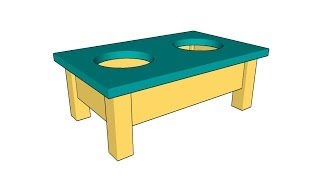 Dog Bowl Stand Plans