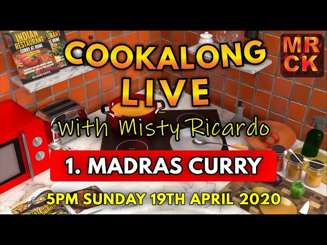 Cookalong Live with Misty Ricardo |  1. Madras Curry