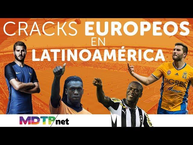 Cracks Europeos en Latinoamérica