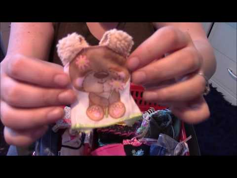 Asmr Cute Dolls Clothes Haul Show & tell - Barbie, Monster High etc *tingly sounds*  soft spoken