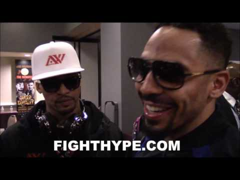 "ANDRE WARD EXPLAINS HOW HE ""DRAINED"" KOVALEV UNTIL HE HIT HIM ON THE BUTTON: ""RIGHT HAND FELT GOOD"""