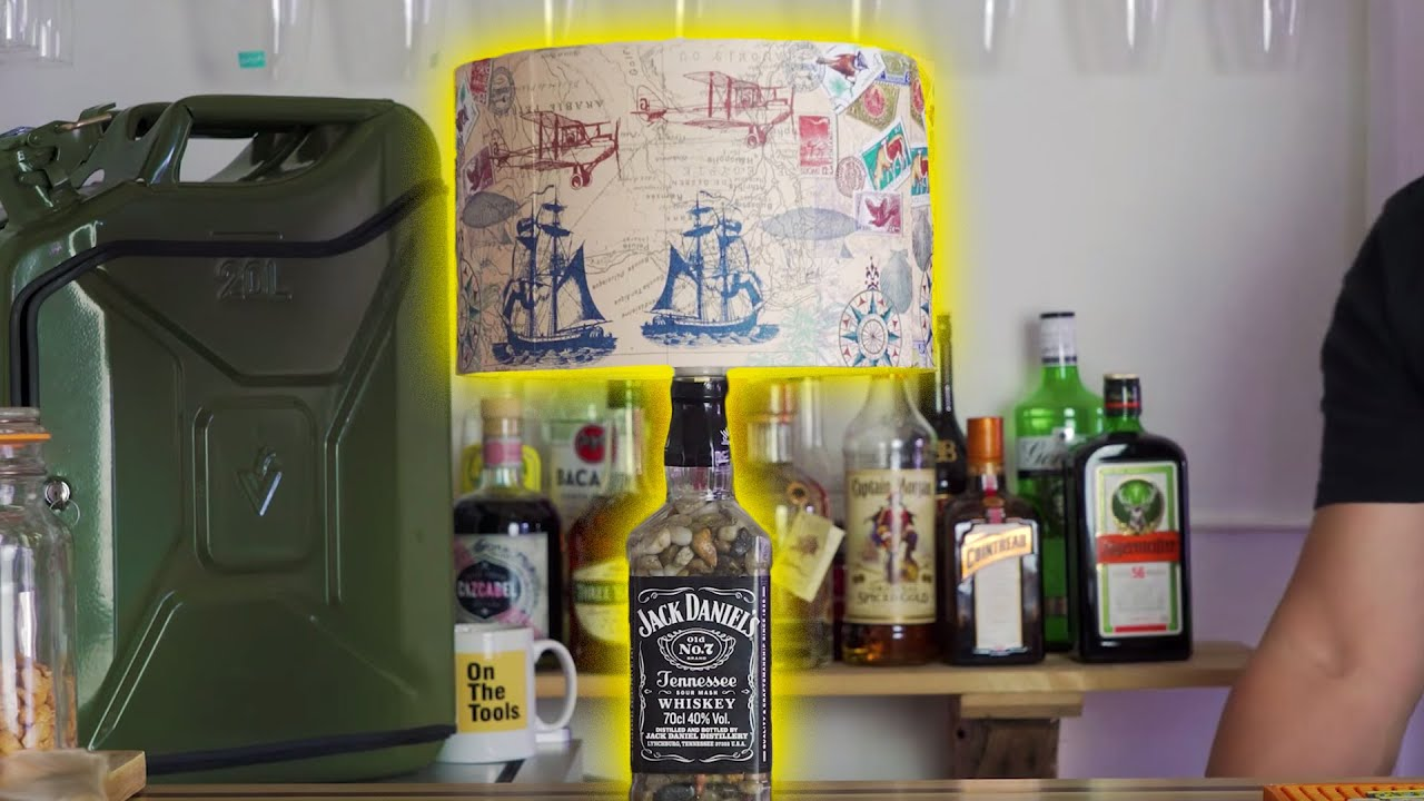 How To Make A Jack Daniels Lamp