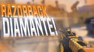 RAZORBACK DE DIAMANTE!! | BLACK OPS 3 | Rubinho vlc