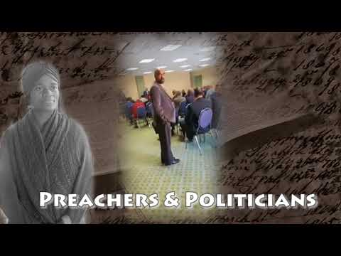Church leaders meet with Politicians in secret meeting & guy is asked to leave for recording Video