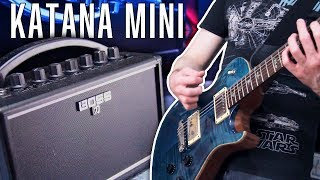 Best Practice Amp For Metal? - Boss Katana Mini | Pete Cottrell