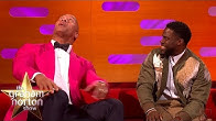 """Dwayne Johnson Asks Kevin Hart What's It Like Being 3' 2"""" 