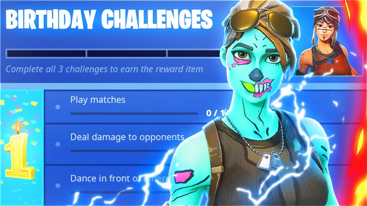 fortnite birthday event GHOUL TROOPER Returns For Fortnite Birthday Event.. (FREE Fortnite  fortnite birthday event