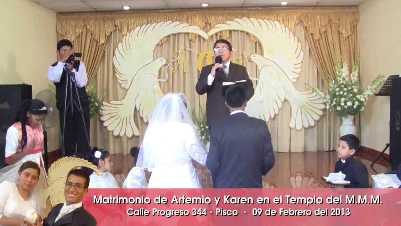 Matrimonio Catolico Vs Matrimonio Cristiano : Ceremonia del matrimonio artemio y karen youtube
