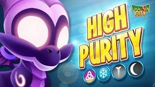 The High Purity Dragon - Heroic Race: Crystal - Dragon City