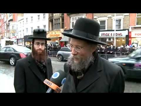 Orthodox Jews in UK protest against Zionism
