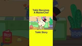 Which Job Is Best For Tokki? Tokki Becomes a Masterchef #Shorts